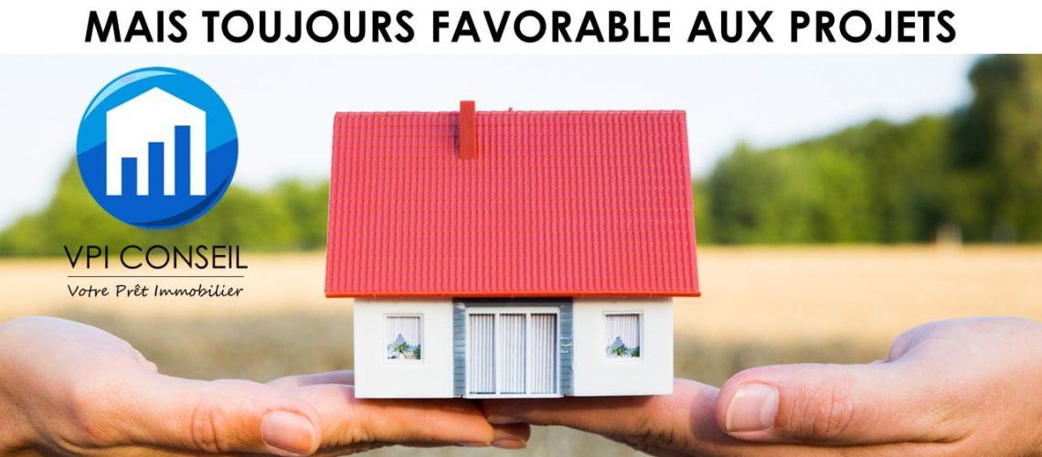 Taux immobilier, en légère augmentation mais toujours favorable aux projets
